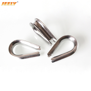 Stainless Steel Tube Wire Rope Thimble