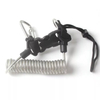 Scuba Diving Springs Coil Lanyard with Quick Release Clip