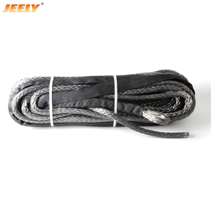 6mm*15m ATV/UTV Synthetic Winch Rope with thimble UHMWPE Fiber