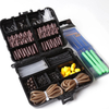 Carp Fishing Terminal Tackle Set Stopper Hook Swivel Sleeve Sinker Lock Hair Rig Silicone Shrink Tube With Needle