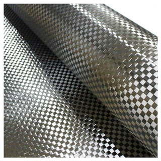 200g 12K 8mm Spread Tow Carbon Fiber Fabric Plain Weave
