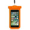 PVC Clear Waterproof Phone Dry Bag For Diving Swimming